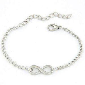 Jewelry - Silver infinity charm bracelet